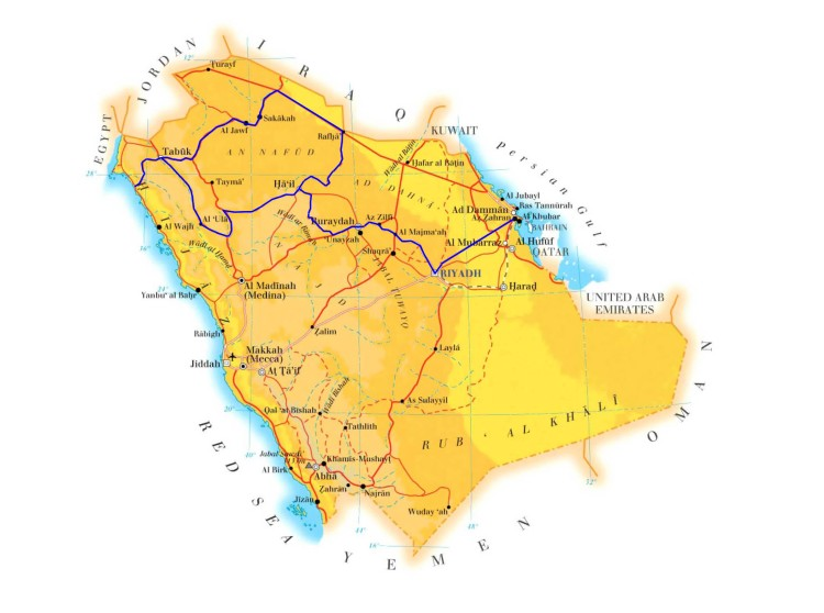 DhahranToBuraydah